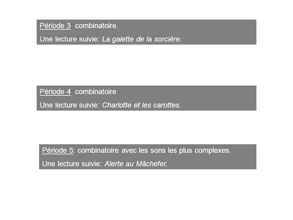 Période 3: combinatoire.