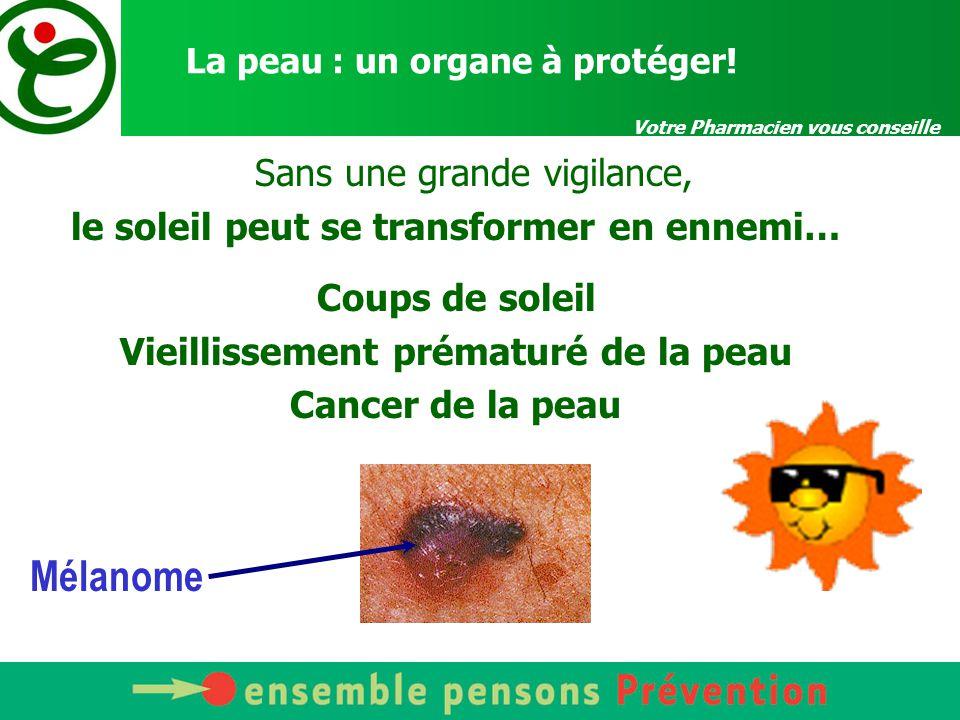 La peau : un organe à protéger!