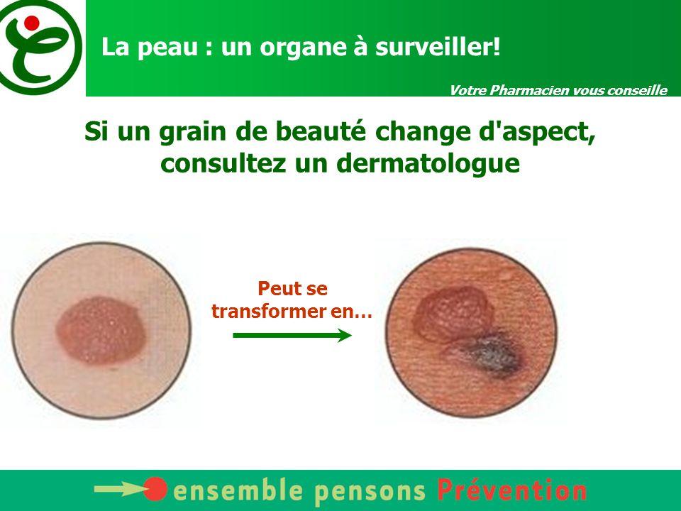 La peau : un organe à surveiller!