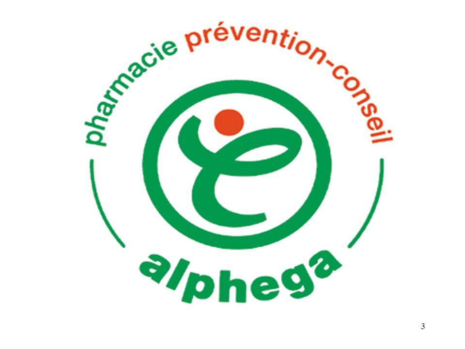 LA PHARMACIE DU MARCHE Pharmacie ALPHEGA