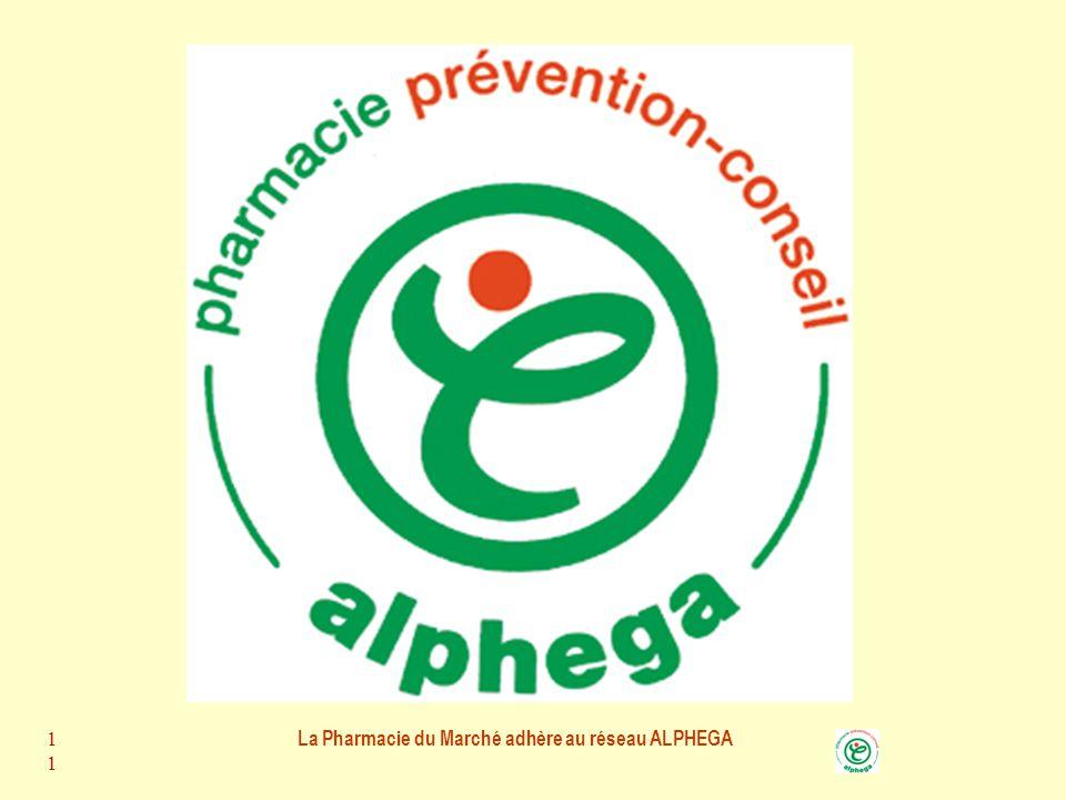 La Pharmacie du Marché adhère au réseau ALPHEGA