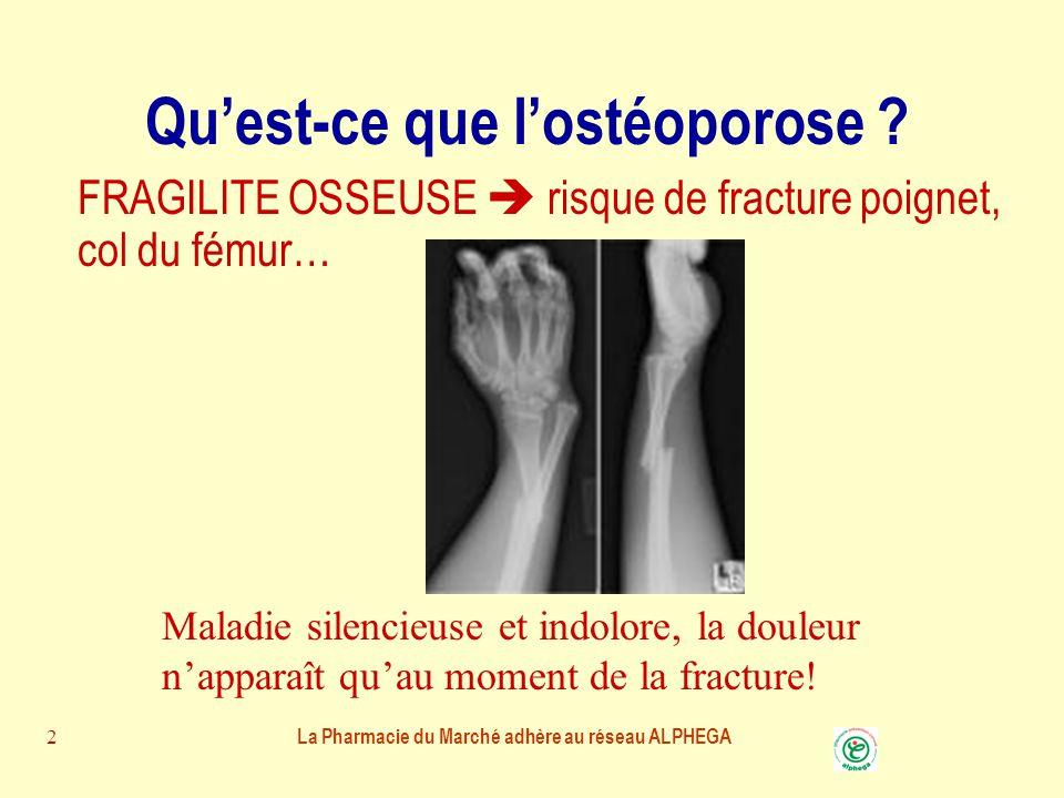 Qu'est-ce que l'ostéoporose