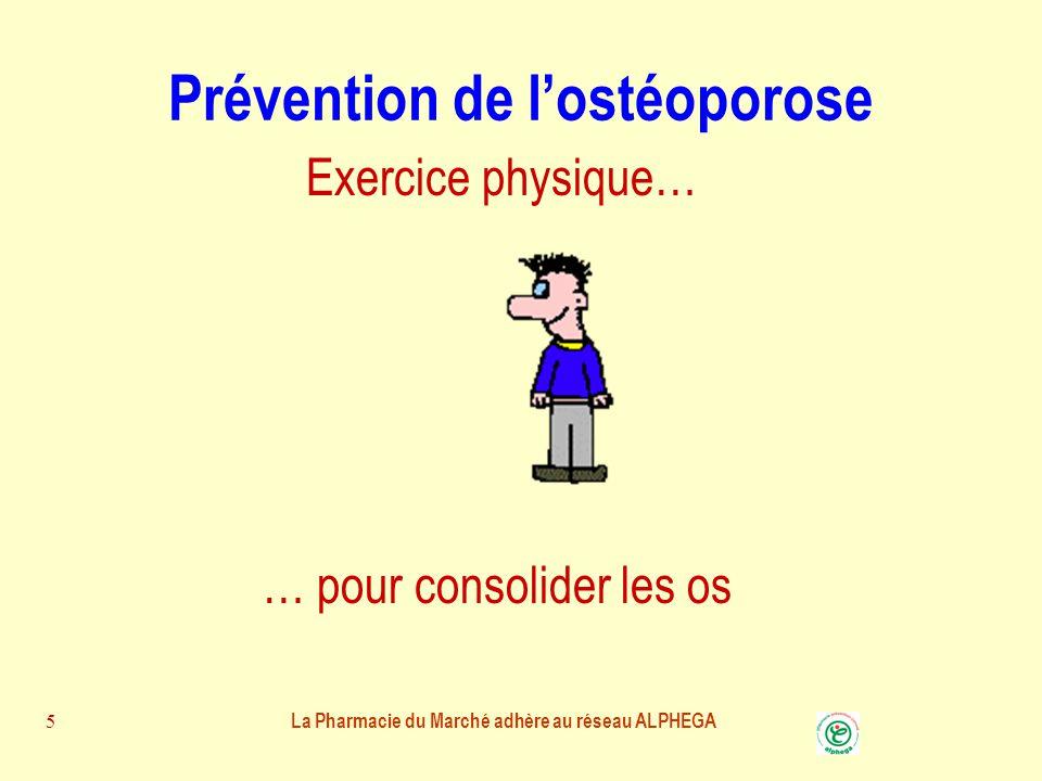 Prévention de l'ostéoporose