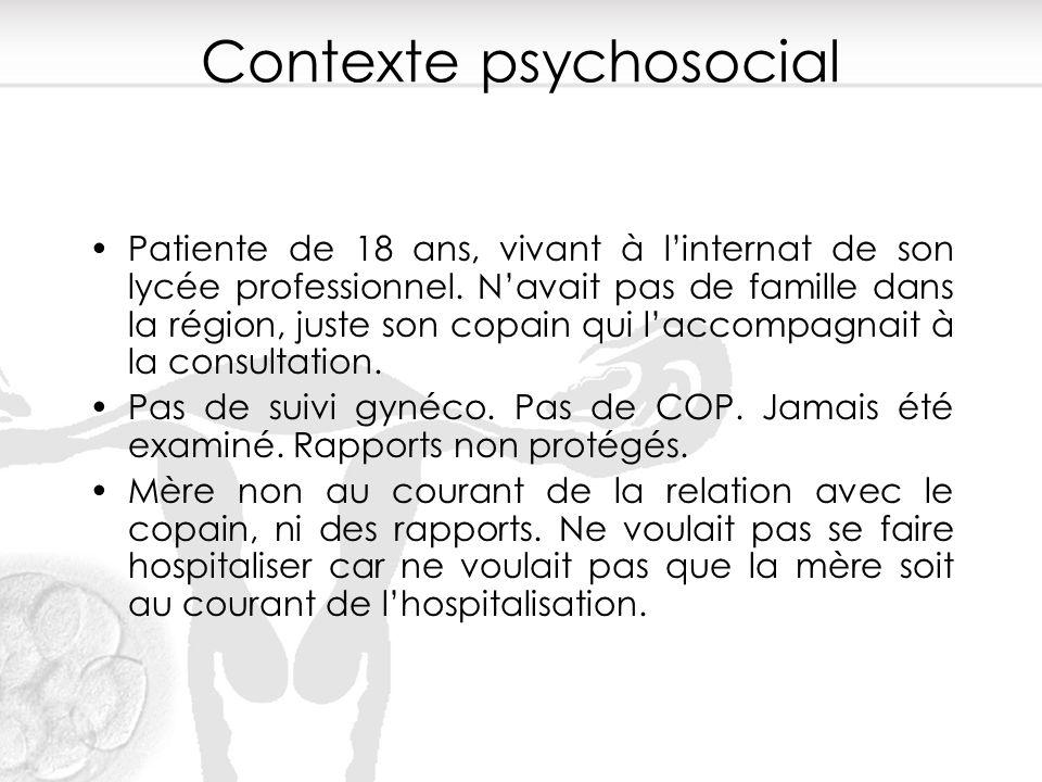 Contexte psychosocial