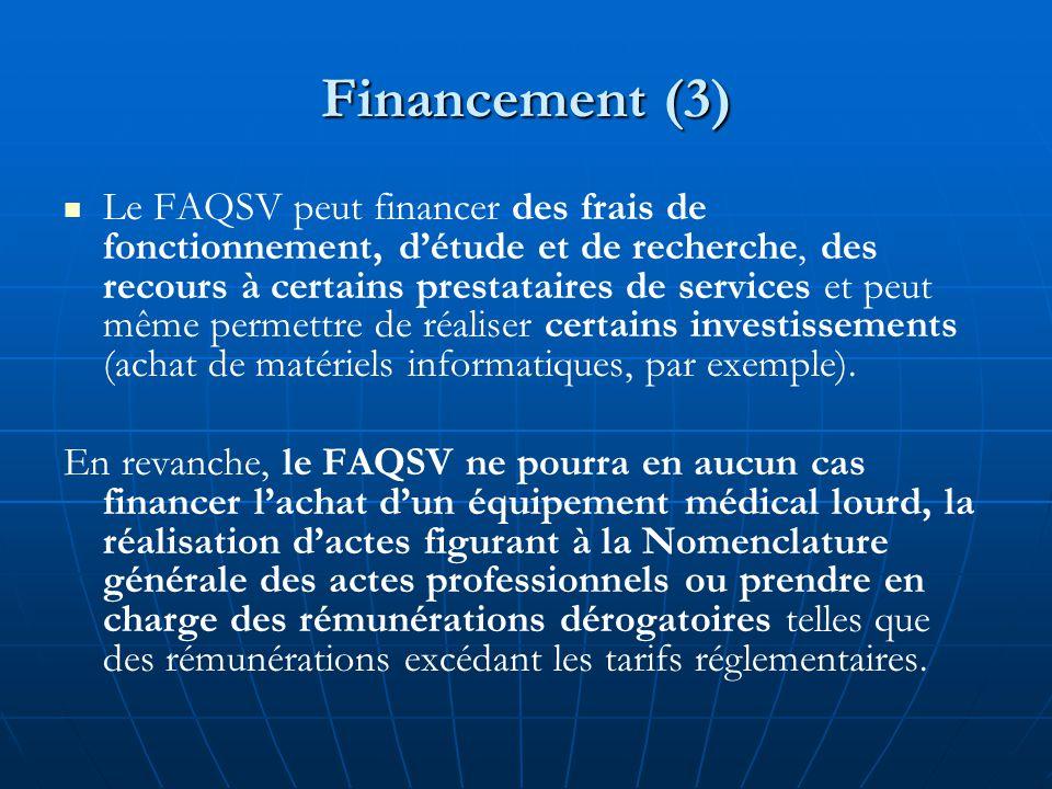Financement (3)