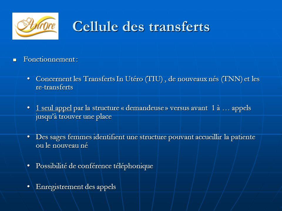 Cellule des transferts