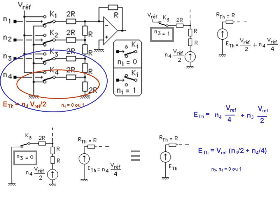 ETh = n4 Vref/2 Vref Vref ETh = n4 + n3 4 2 ETh = Vref (n3/2 + n4/4)