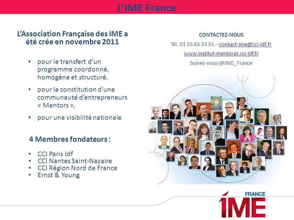 L'Association Française des IME a été crée en novembre 2011