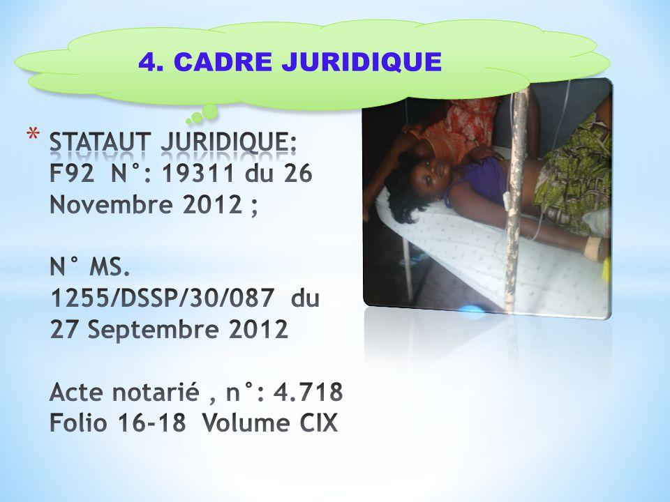 4. CADRE JURIDIQUE
