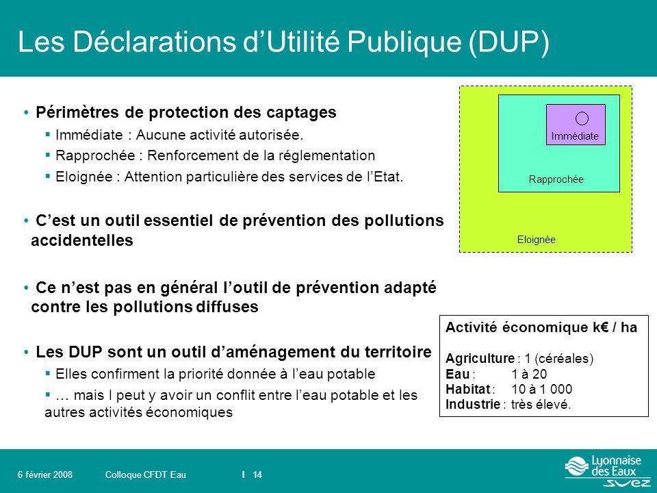 Les Déclarations d'Utilité Publique (DUP)