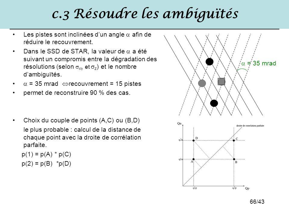 c.3 Résoudre les ambiguïtés