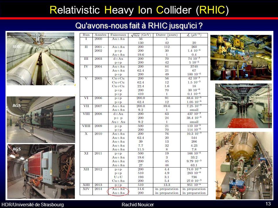 Relativistic Heavy Ion Collider (RHIC)