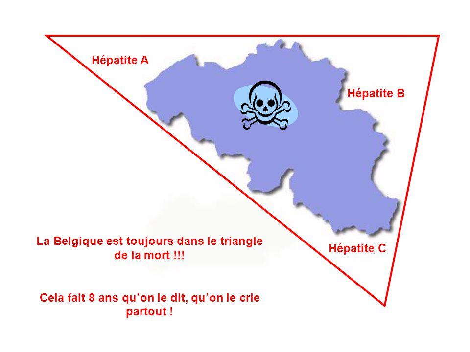 La Belgique est toujours dans le triangle de la mort !!!