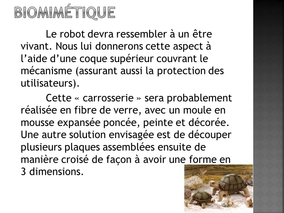 Biomimétique