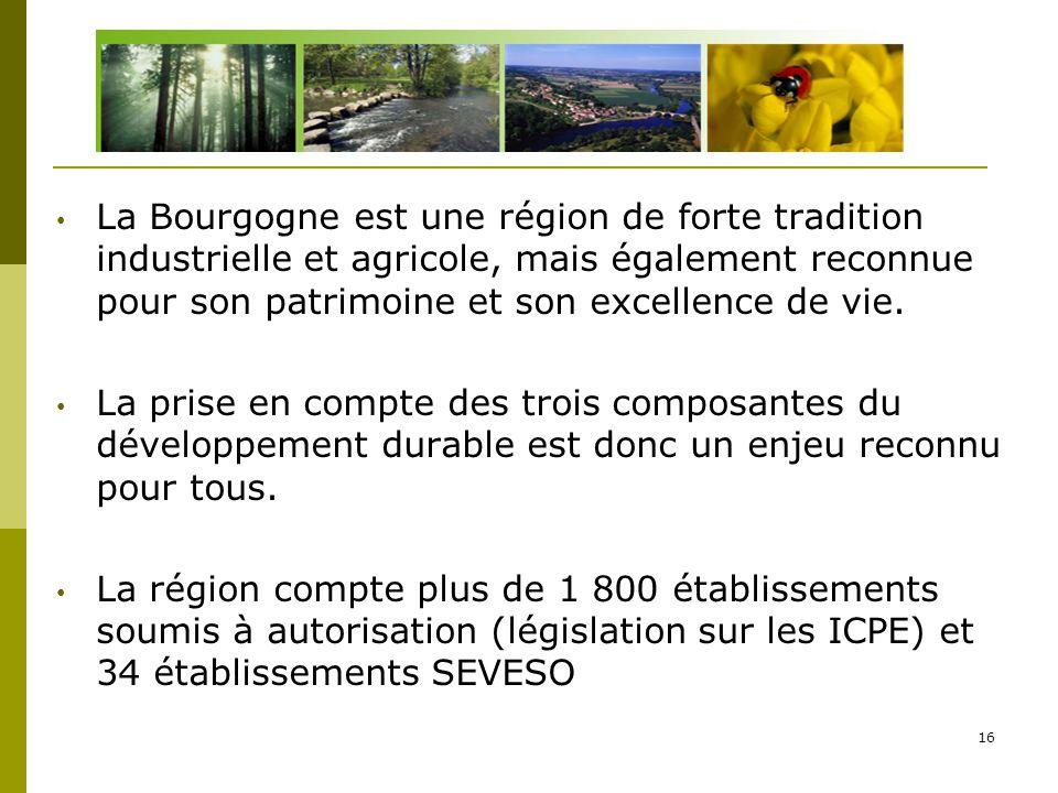 D La Bourgogne est une région de forte tradition industrielle et agricole, mais également reconnue pour son patrimoine et son excellence de vie.