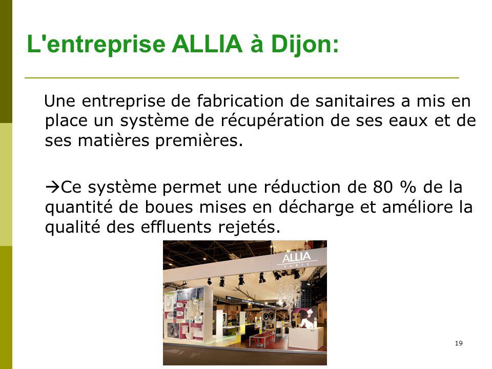 L entreprise ALLIA à Dijon: