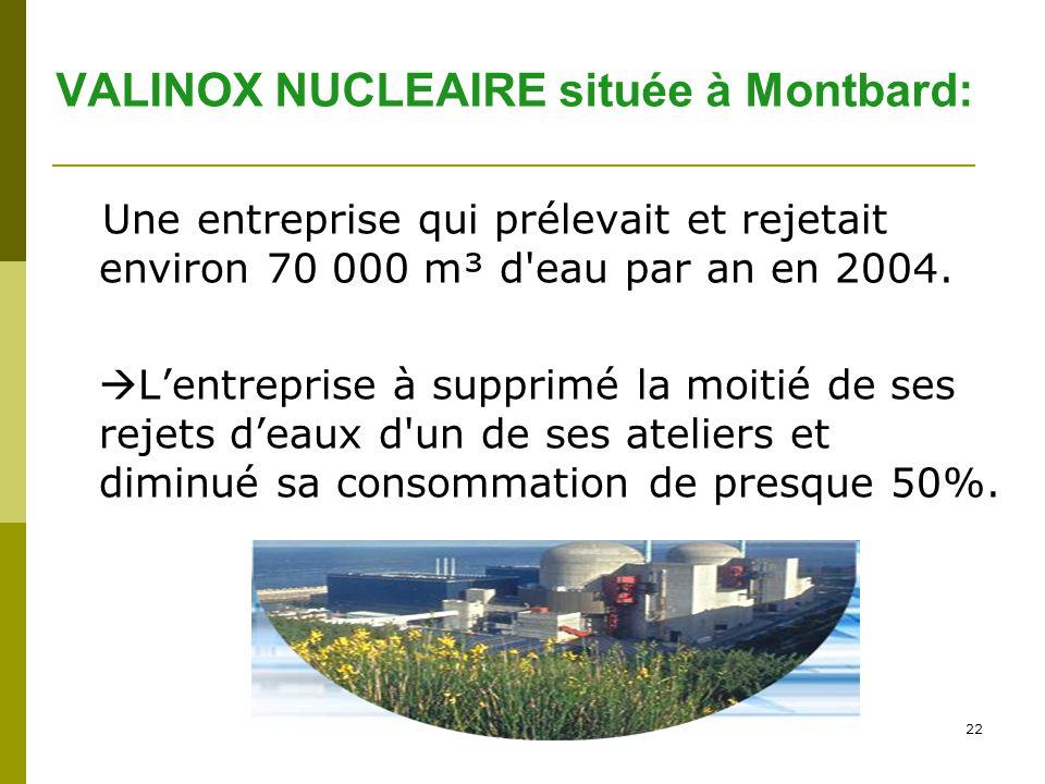 VALINOX NUCLEAIRE située à Montbard: