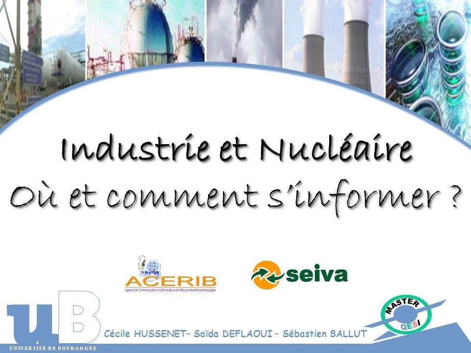 Industrie et Nucléaire