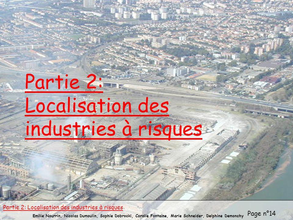 Partie 2: Localisation des industries à risques