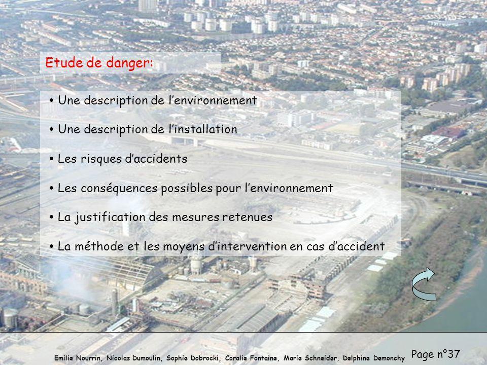 Etude de danger: