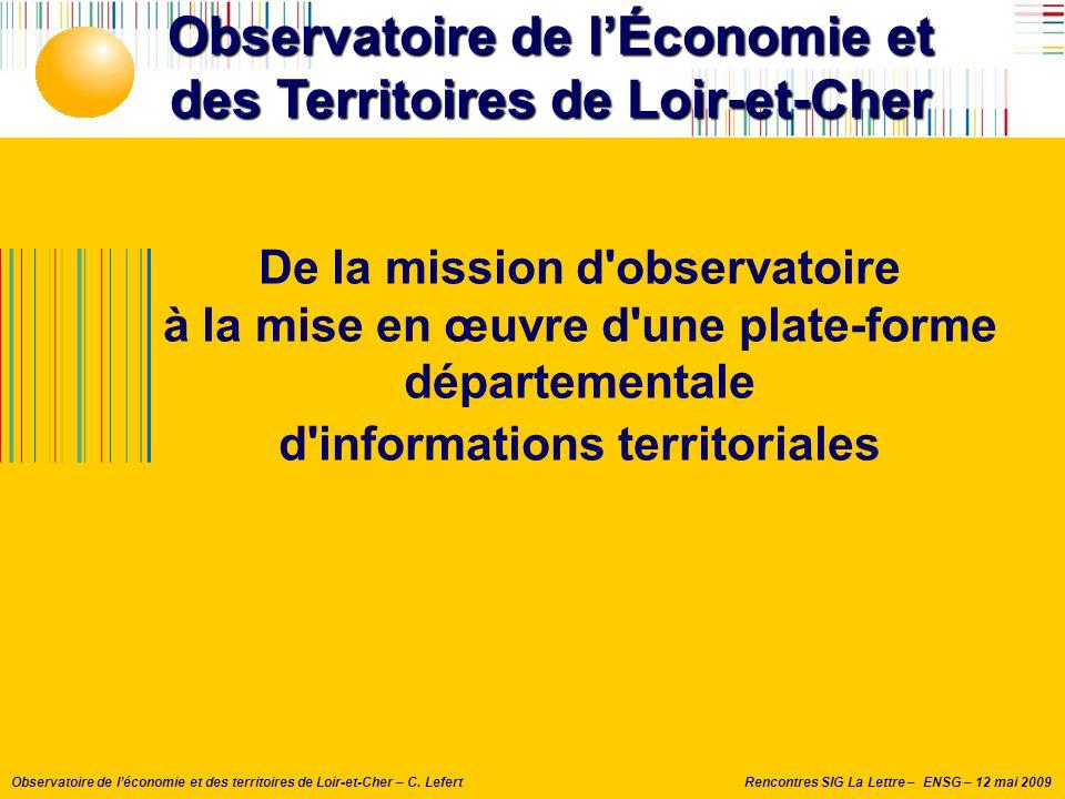 Observatoire de l'Économie et des Territoires de Loir-et-Cher