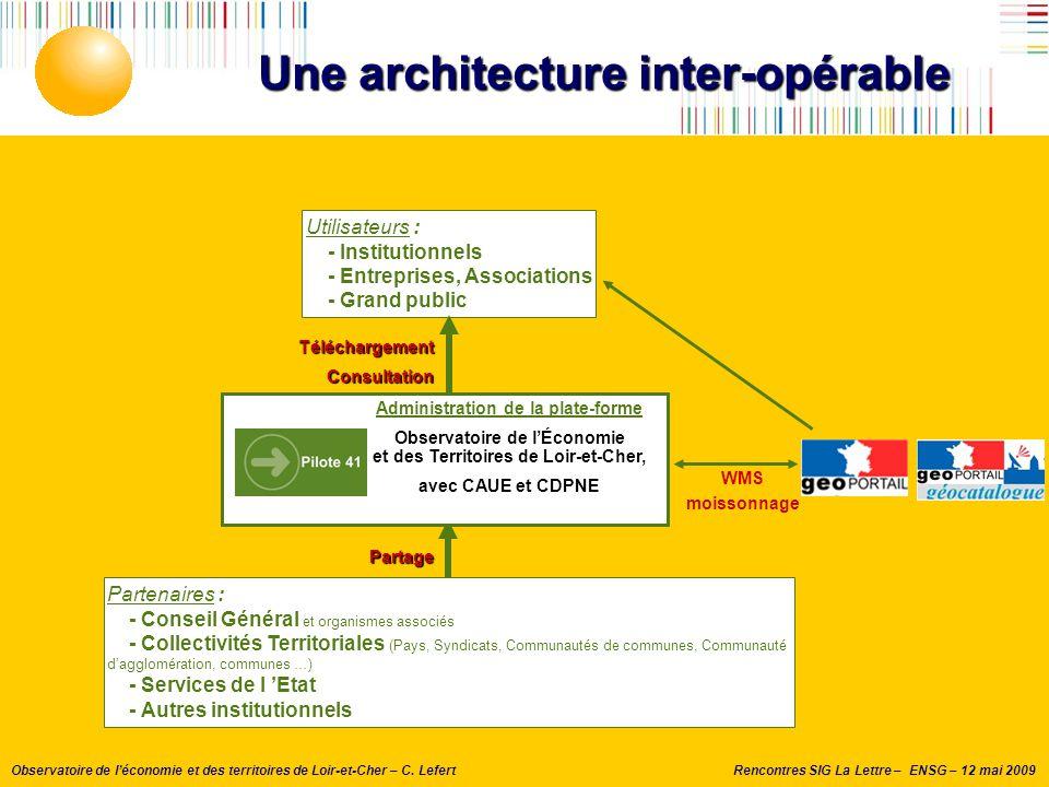 Une architecture inter-opérable