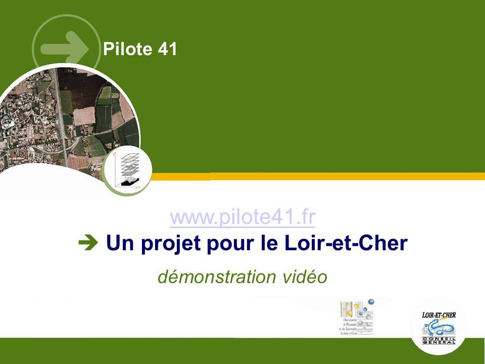 www.pilote41.fr  Un projet pour le Loir-et-Cher démonstration vidéo