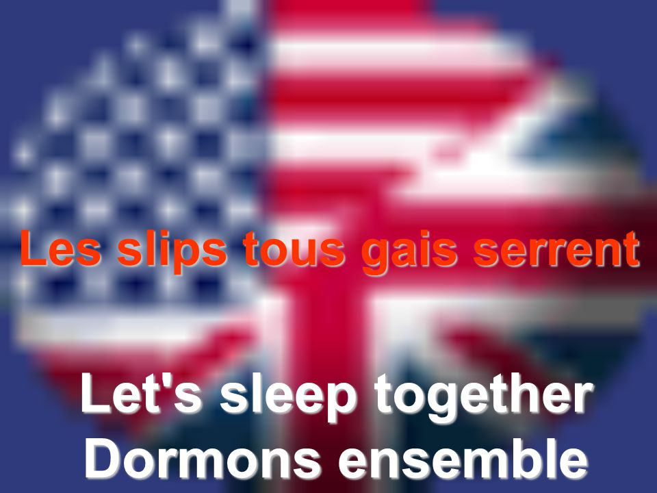 Let s sleep together Dormons ensemble