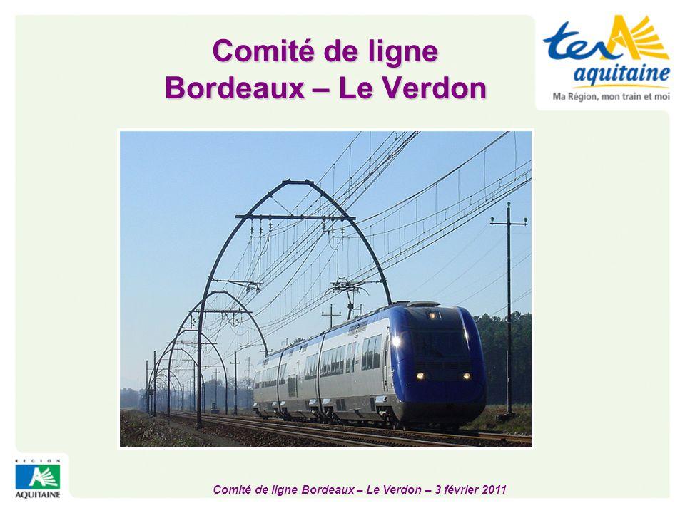 Comité de ligne Bordeaux – Le Verdon