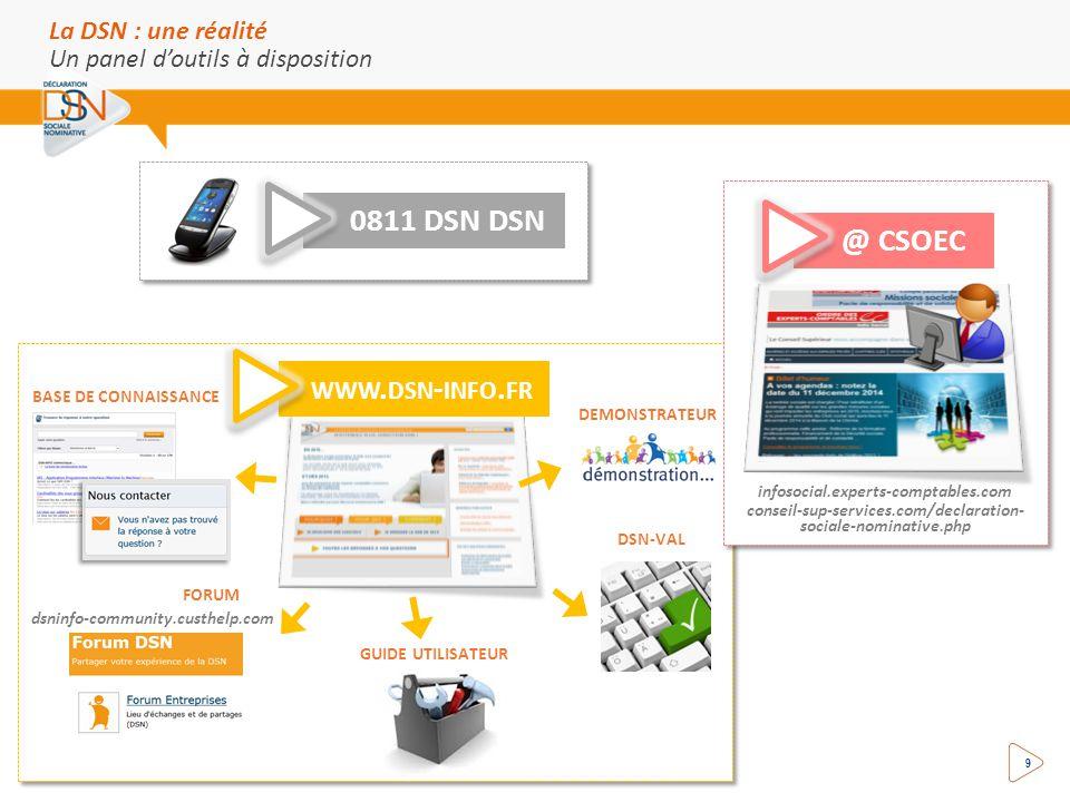 0811 DSN DSN @ CSOEC www.dsn-info.fr