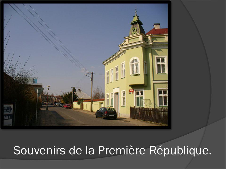 Souvenirs de la Première République.