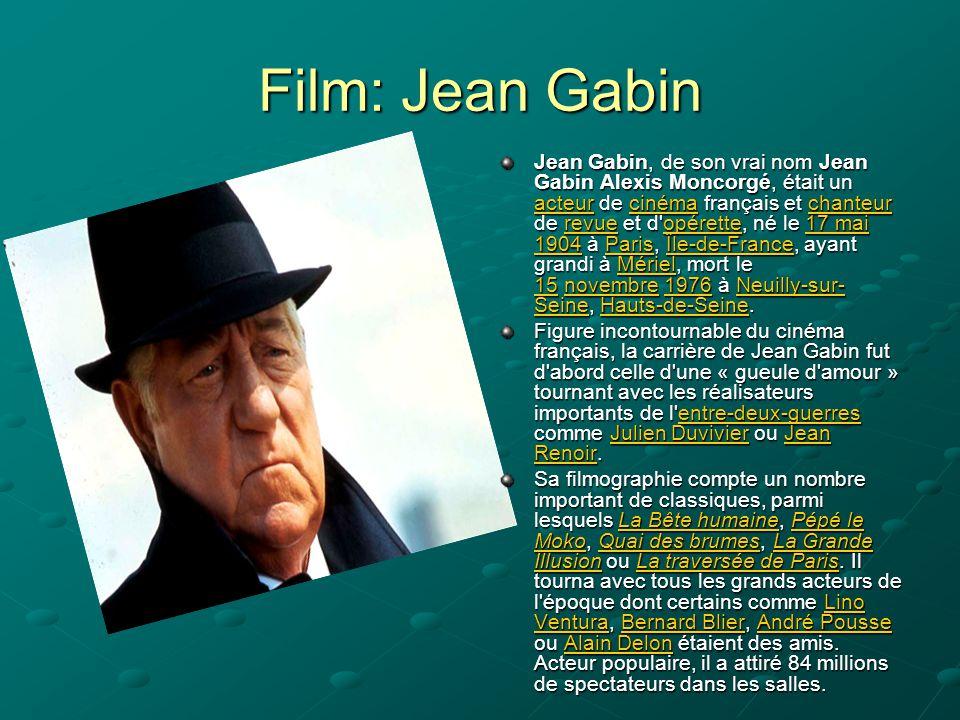 Film: Jean Gabin