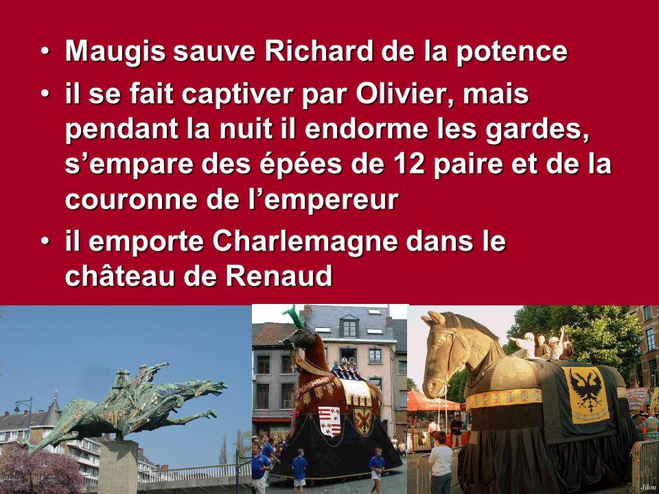 Maugis sauve Richard de la potence