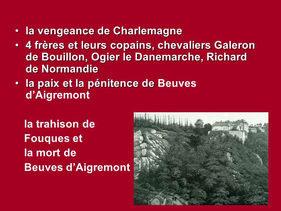 la vengeance de Charlemagne
