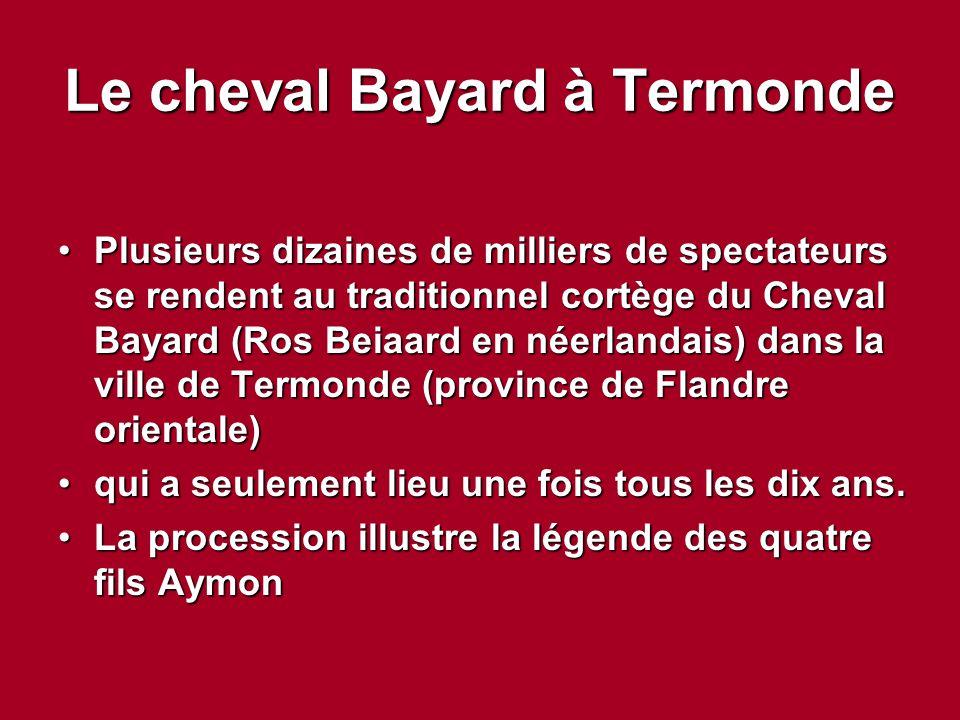 Le cheval Bayard à Termonde