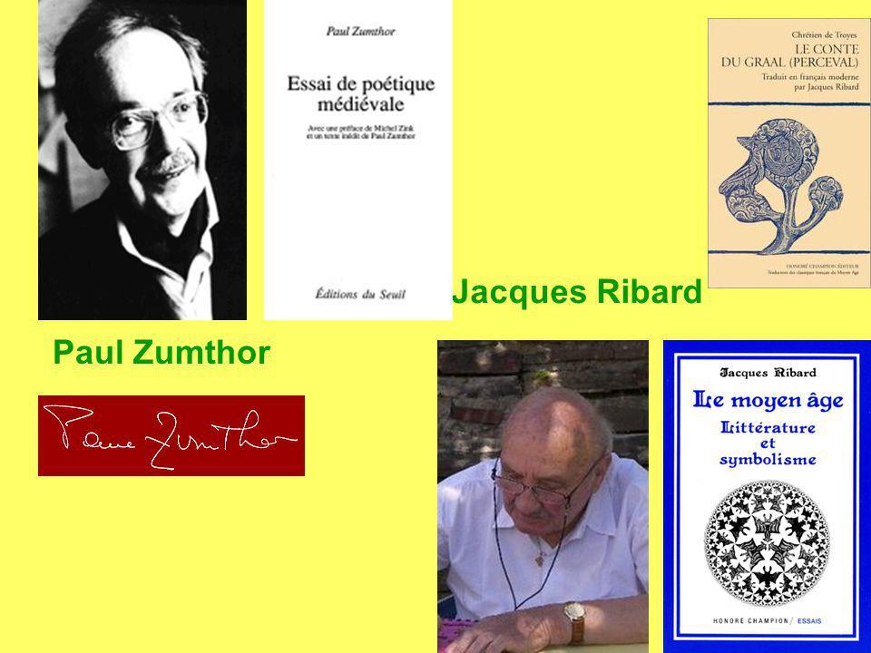 Jacques Ribard Paul Zumthor