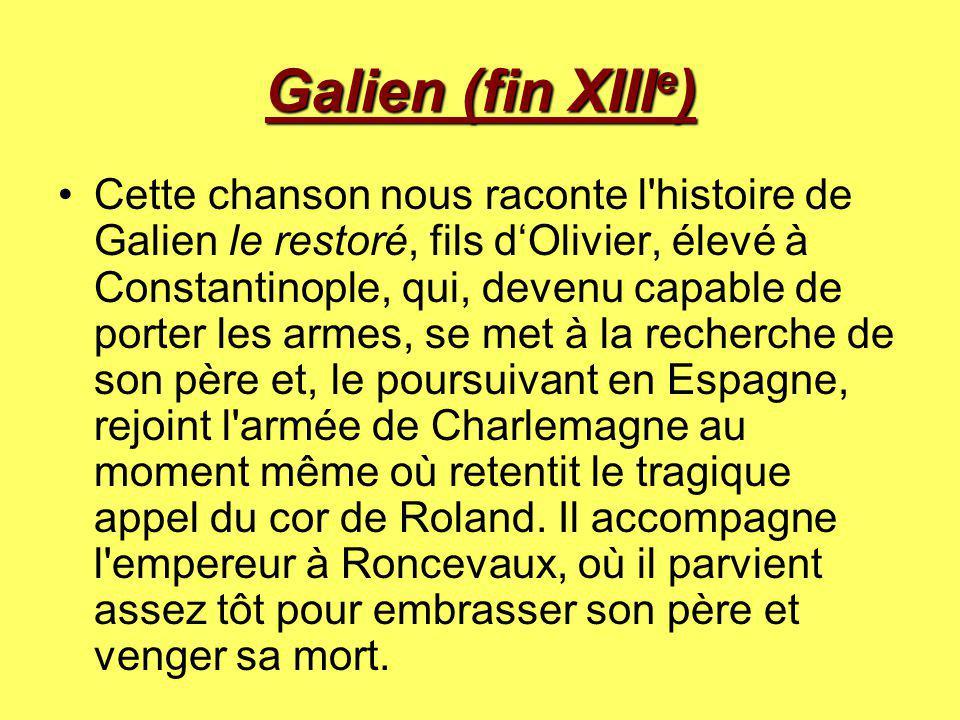 Galien (fin XIIIe)