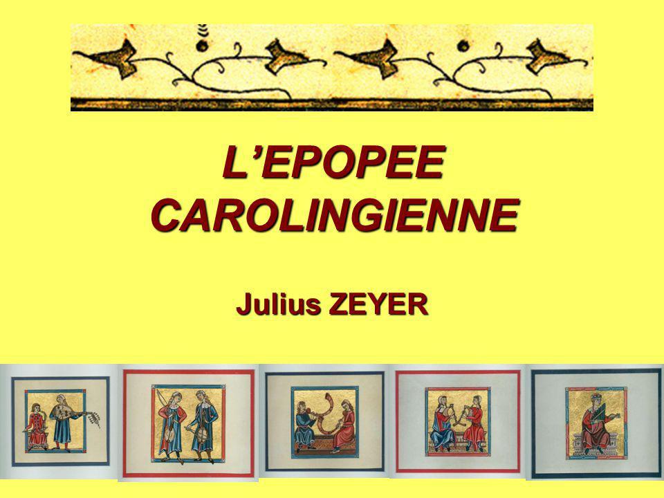 L'EPOPEE CAROLINGIENNE