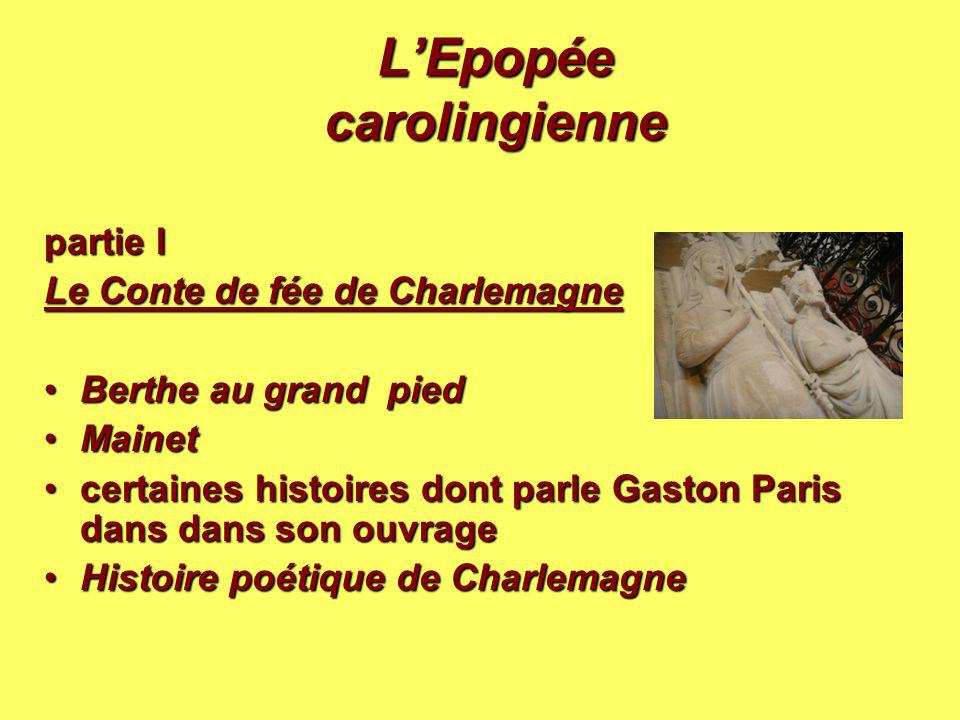 L'Epopée carolingienne