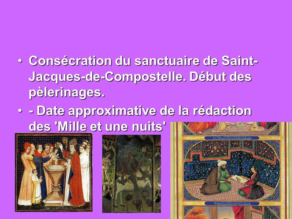 Consécration du sanctuaire de Saint-Jacques-de-Compostelle
