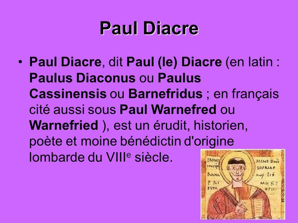 Paul Diacre