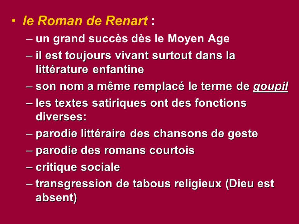 le Roman de Renart : un grand succès dès le Moyen Age