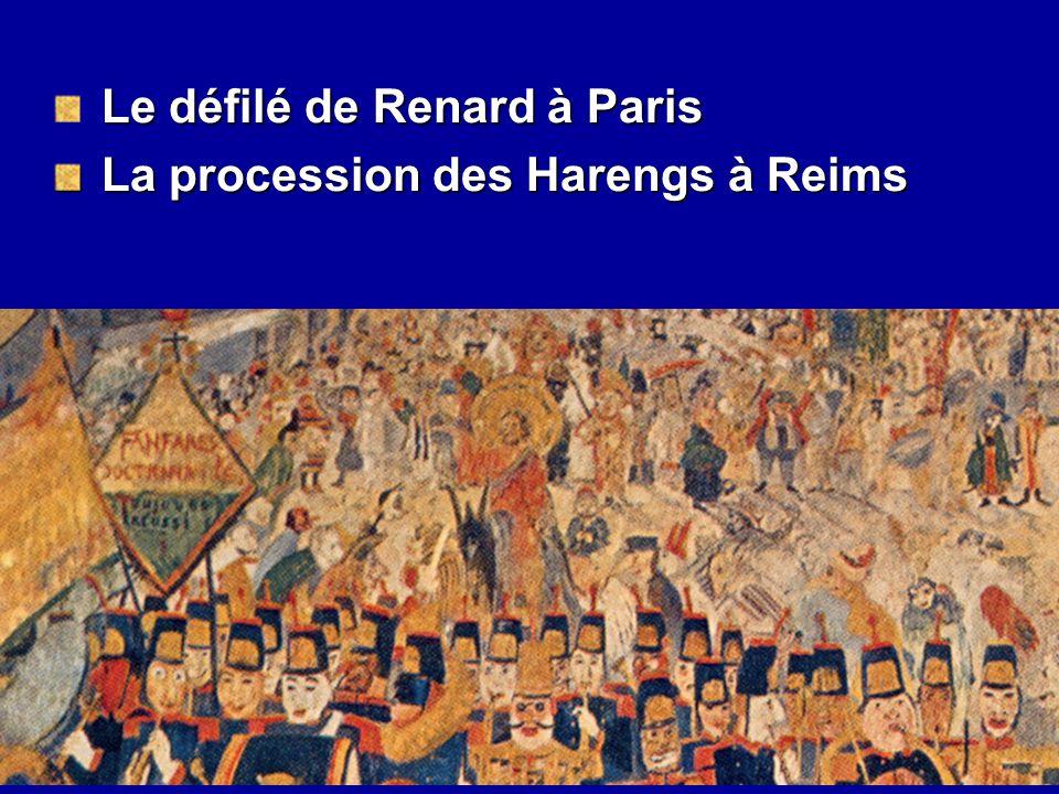 Le défilé de Renard à Paris