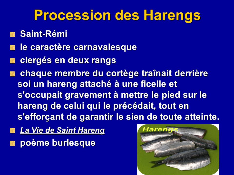 Procession des Harengs