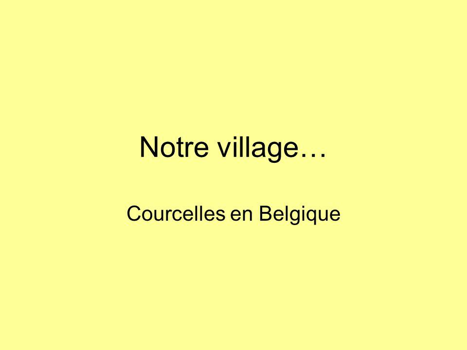 Courcelles en Belgique