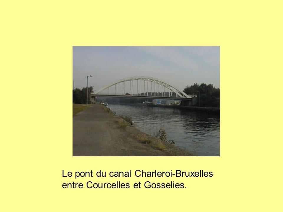 Le pont du canal Charleroi-Bruxelles