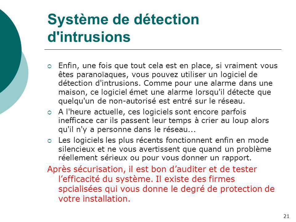 Système de détection d intrusions