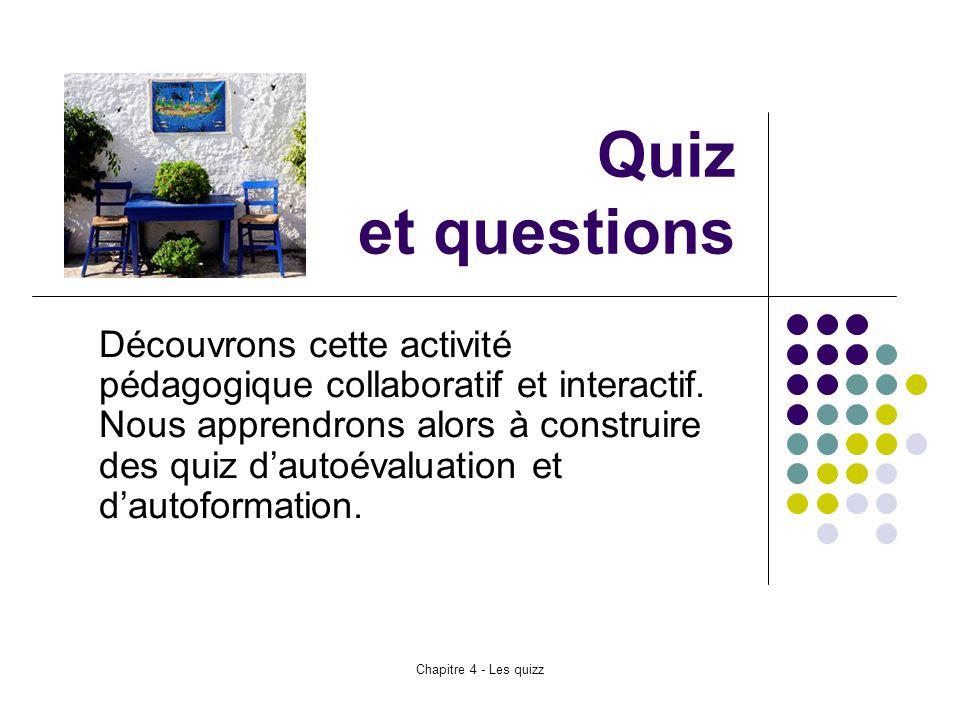 Quiz et questions