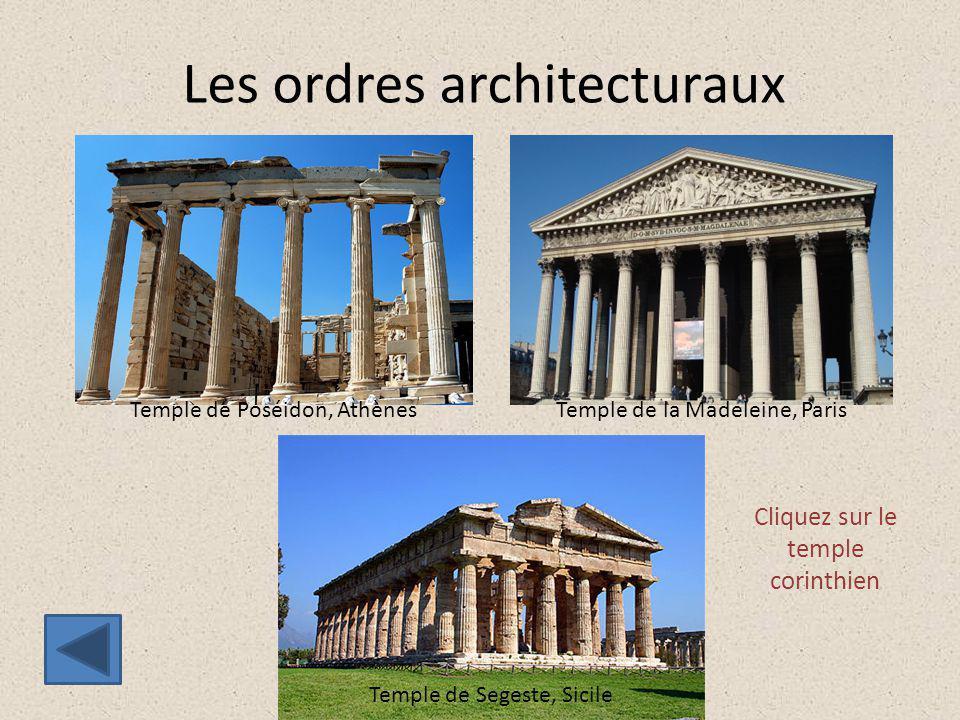 Les ordres architecturaux