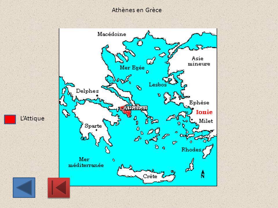 Athènes en Grèce L'Attique